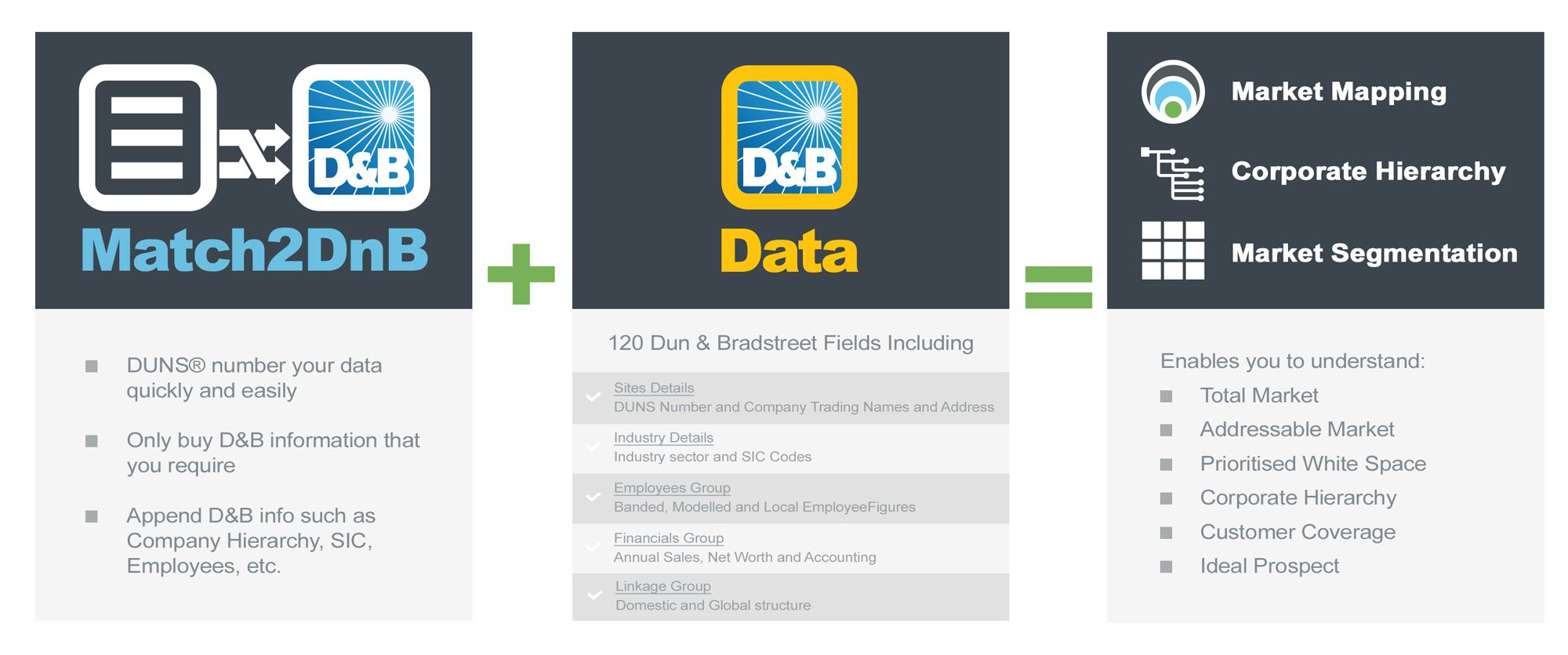 Dun and Bradstreet Data Matching